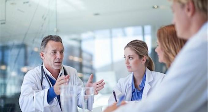 rozmowa lekarzy